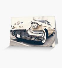 Art In Design - Cadillac!  Greeting Card