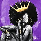 Naturally Queen PURPLE by DaCre8iveOne