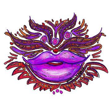 Lippenpflege - Pink Kiss von Susantobiaart
