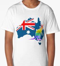 Kangaroo / Australia YES for LGBT marriage Long T-Shirt