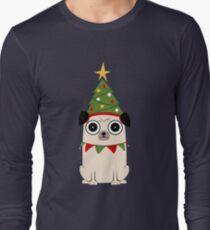 It's Christmas for Pug's sake Long Sleeve T-Shirt