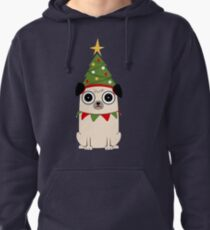 It's Christmas for Pug's sake Pullover Hoodie