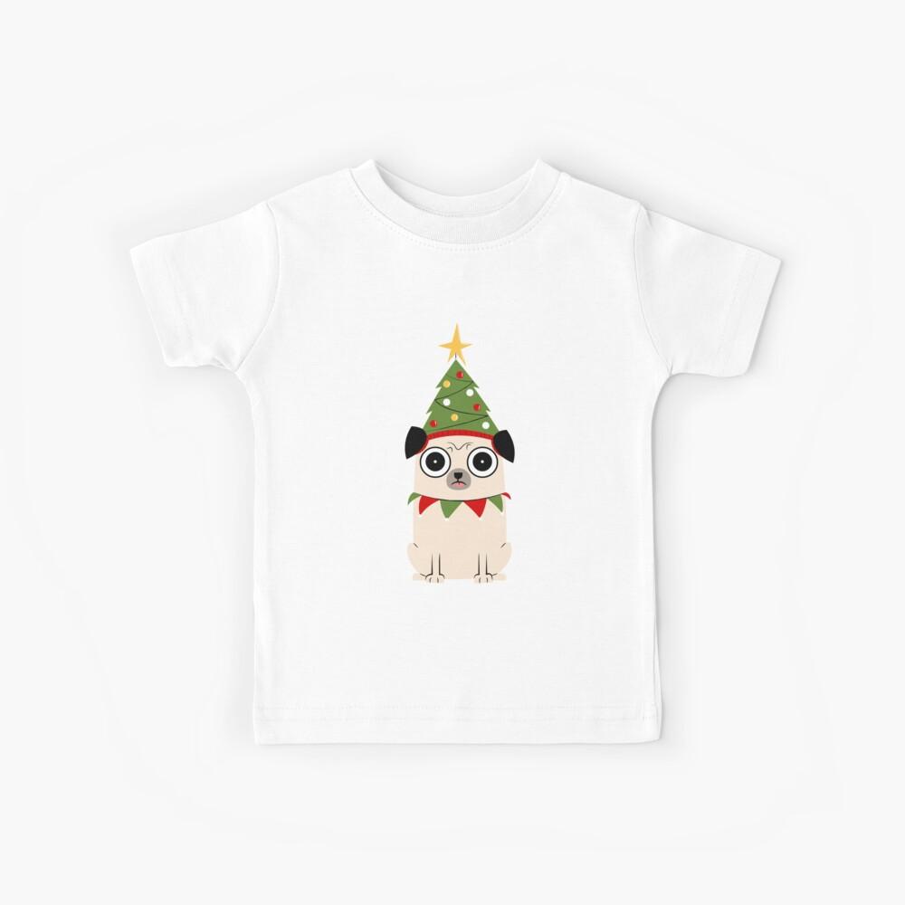 It's Christmas for Pug's sake Kids T-Shirt