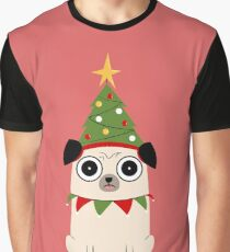 It's Christmas for Pug's sake Graphic T-Shirt