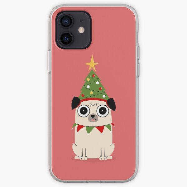 It's Christmas for Pug's sake iPhone Soft Case