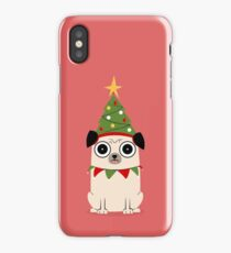 It's Christmas for Pug's sake iPhone Case/Skin