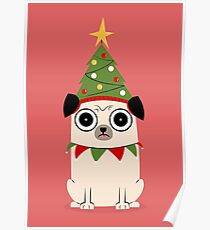 It's Christmas for Pug's sake Poster