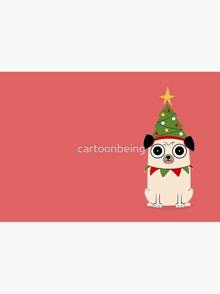 Es ist Weihnachten um Pug willen von cartoonbeing