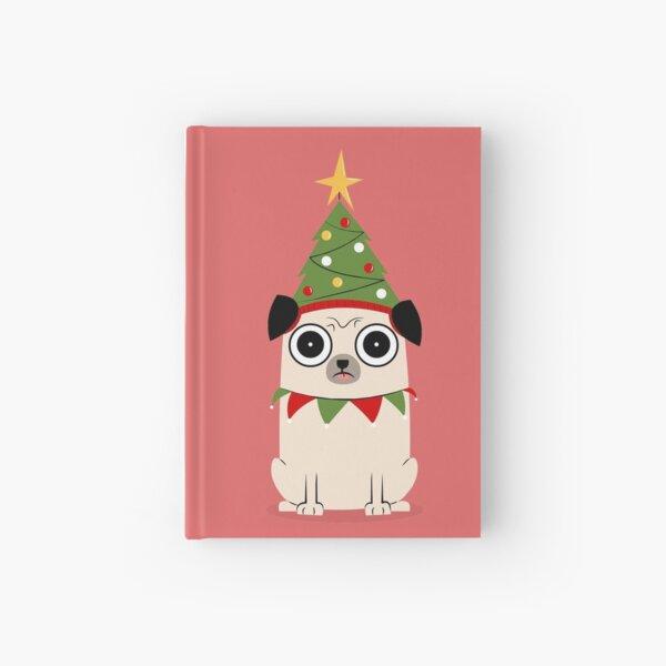 It's Christmas for Pug's sake Hardcover Journal