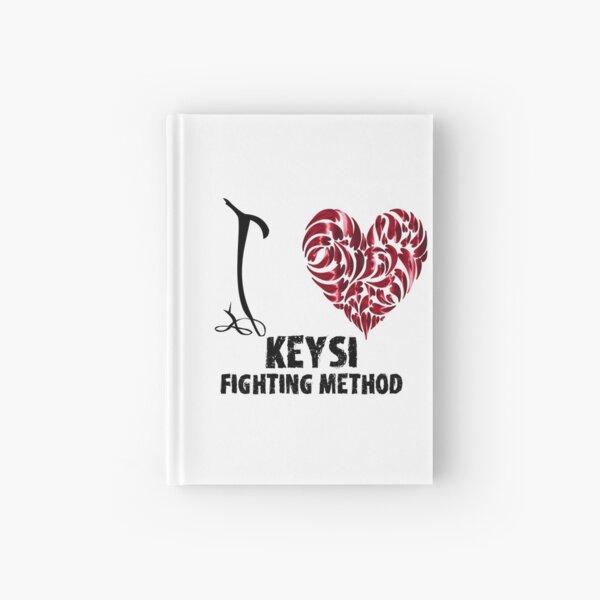 Keysi Fighting Method T Shirt Design I Love Keysi Fighting Method Hardcover Journal