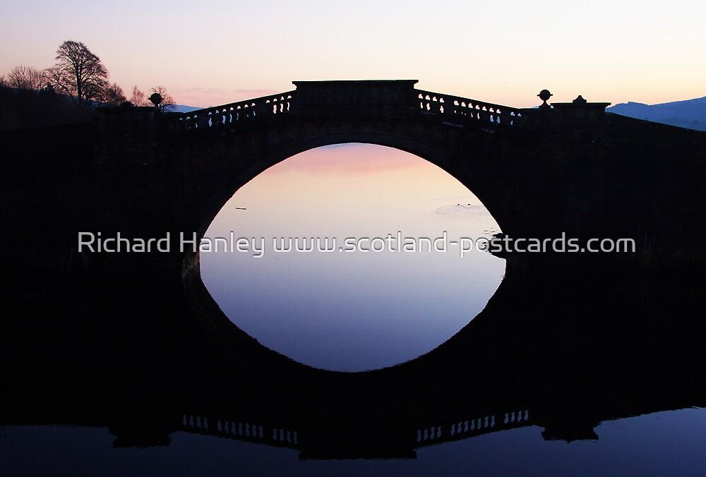 Reflecting Bridge by Richard Hanley www.scotland-postcards.com