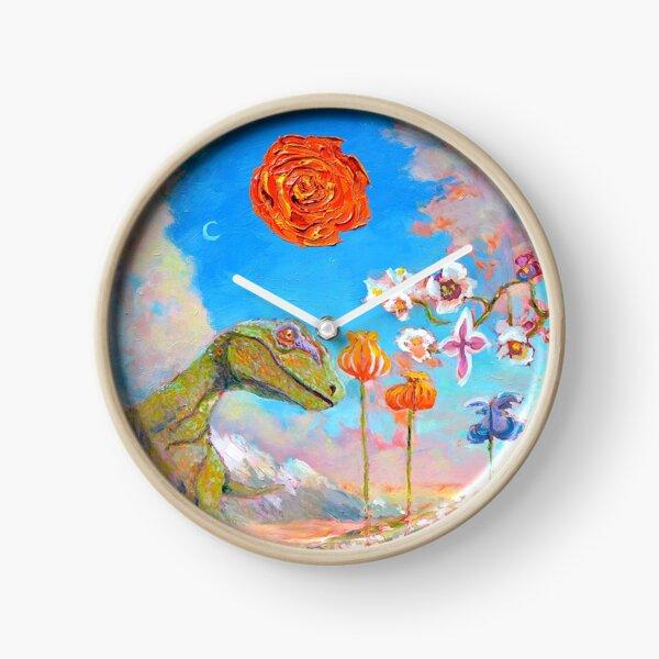 Raptor Clock Clock