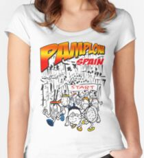 Running of The Bowls Women's Fitted Scoop T-Shirt