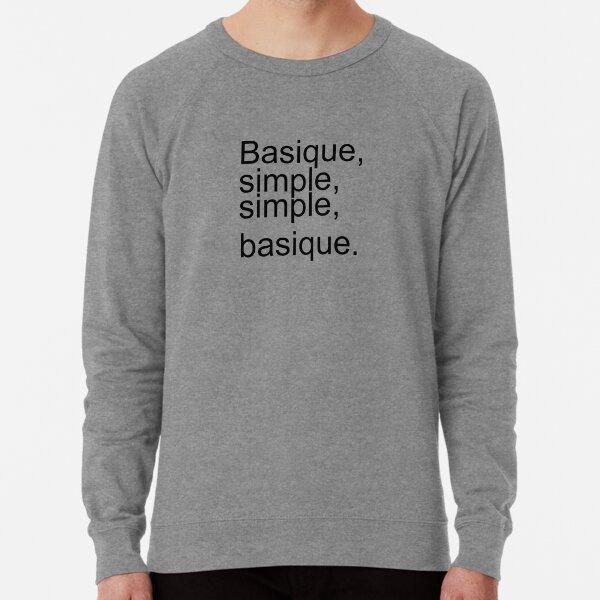 Orelsan, basique, simple Sweatshirt léger