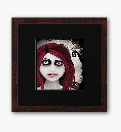 Dear little doll series... ROUBLE Framed Print