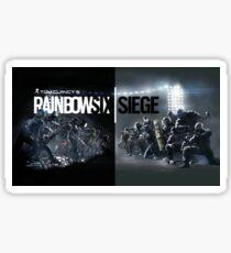 rainbow six siege Sticker