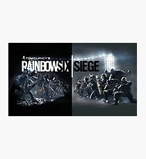 rainbow six siege Photographic Print