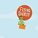 Flying Shokoy by lalainelim