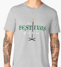 Its A Festivus Miracle - Funny Quote Design Men's Premium T-Shirt