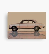 Peugeot 504 1968 Painting Canvas Print