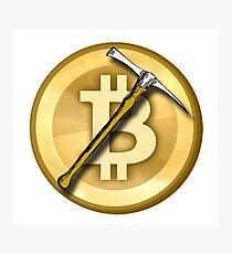 Bitcoin mining #7 (BTC) Photographic Print
