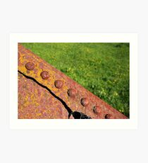 Rust in the Field Art Print