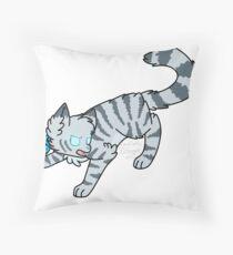 Jayfeather (Warrior Cats) Throw Pillow