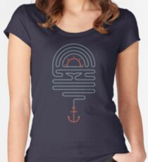 The Tale of the Whale Women's Fitted Scoop T-Shirt