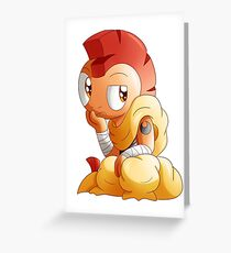 SN: Ninja Chibi - Scrafty Greeting Card