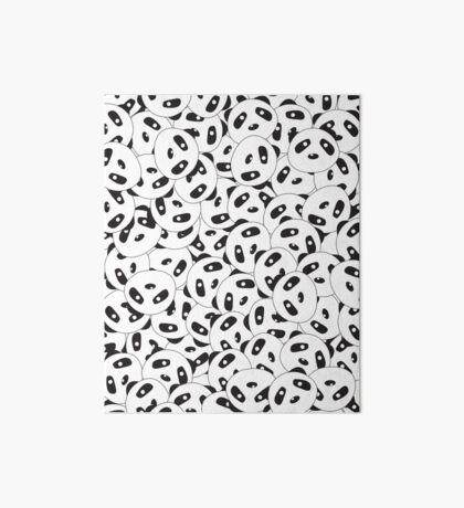 Pandamonium Art Board Print