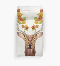 deer autumn Duvet Cover