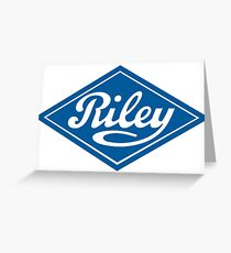 Riley - the Classic British Car Greeting Card