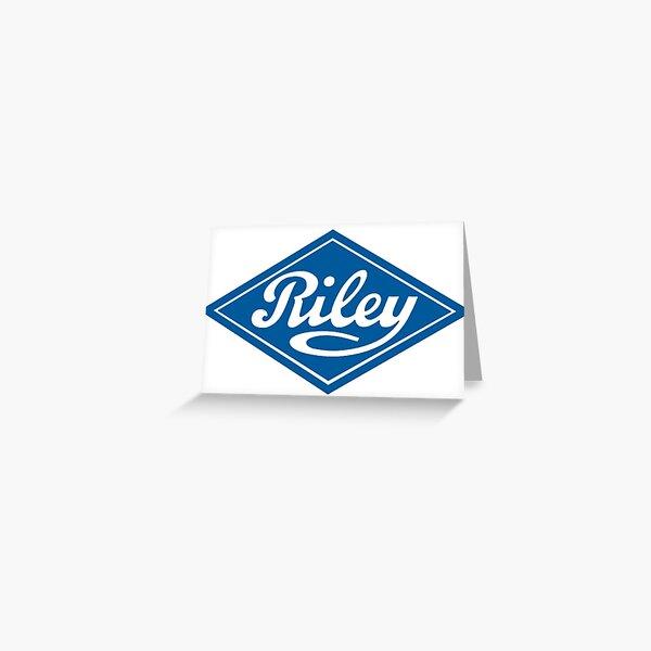 Riley - the Classic British Car Greeting Card