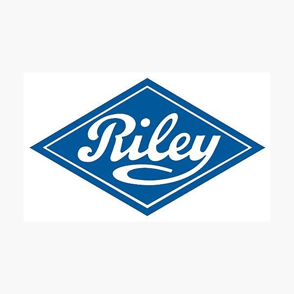 Riley - the Classic British Car Photographic Print