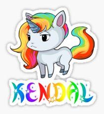 Kendal Unicorn Sticker