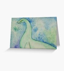 Nessie Greeting Card