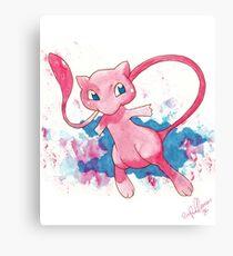 Mew! Pokemon  Canvas Print