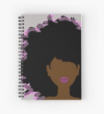 Big Hair! Don't Care  Spiral Notebook