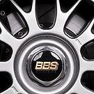 Racing car alloy wheel by Martyn Franklin