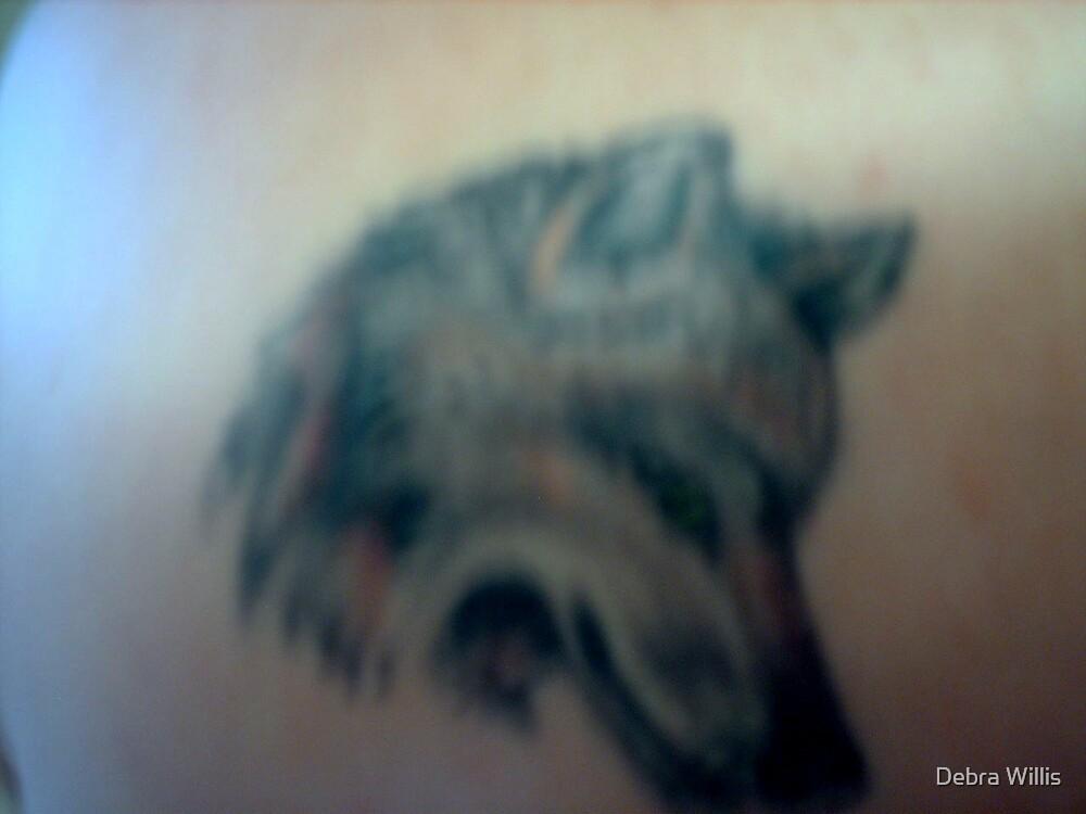 THE GAURDIAN ON MY LEFT SHOULDER by Debra Willis