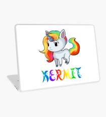 Kermit Unicorn Laptop Skin