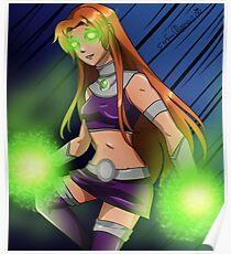 Starfire Teen Titans Poster