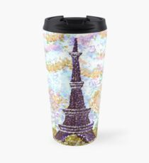 Eiffel Tower Pointillism by Kristie Hubler Travel Mug