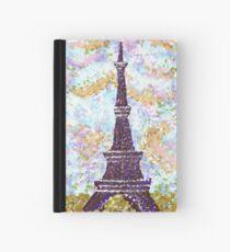 Eiffel Tower Pointillism by Kristie Hubler Hardcover Journal