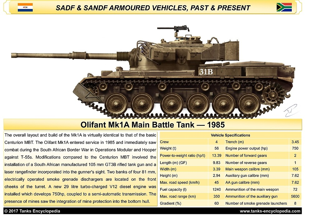 poster Olifant Mk1a