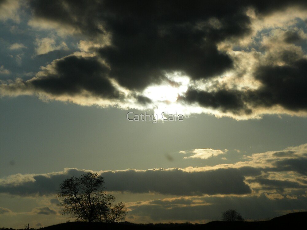Cloudy Skyscape by Cathy Cale