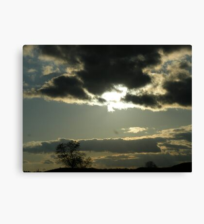Cloudy Skyscape Canvas Print
