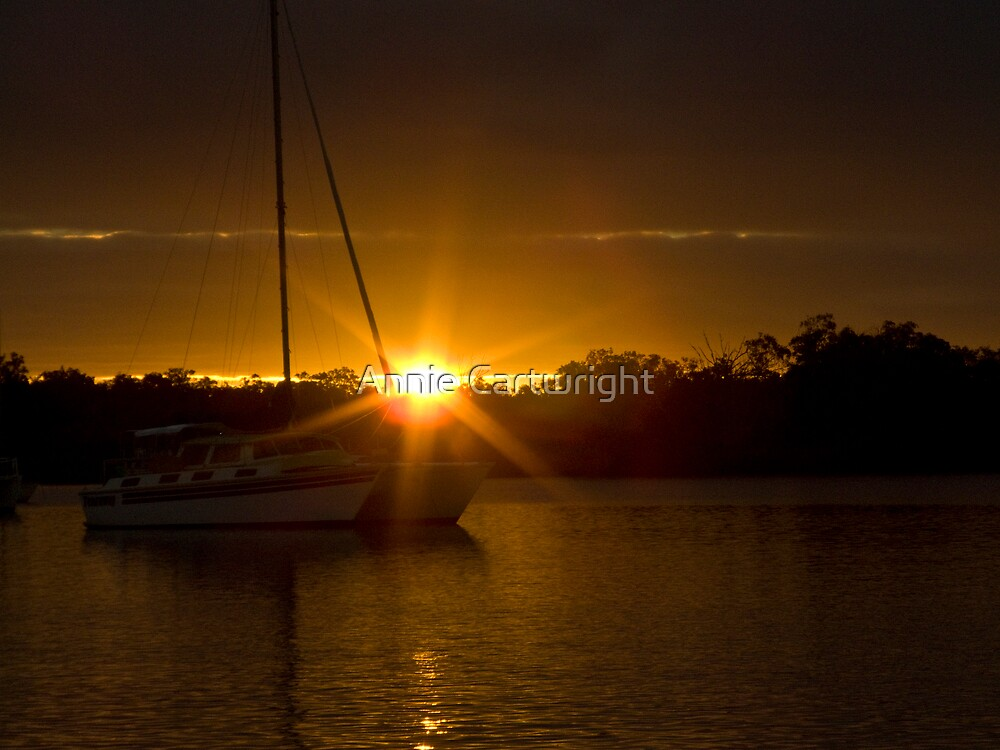 SUNSET FOR A FRIEND by Annie Cartwright