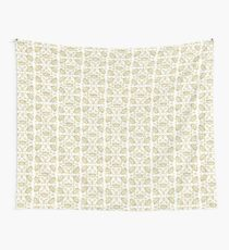 Queen of Hearts gold crown tiara tossed about by Kristie Hubler Wall Tapestry