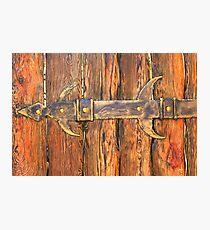 old wooden door Photographic Print